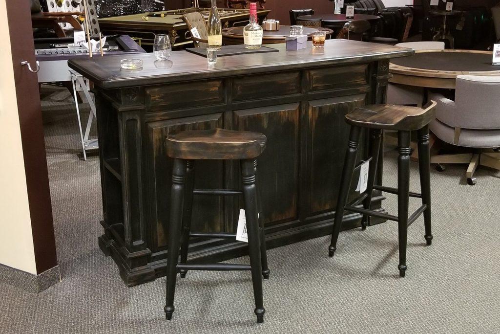 Brand New Floor Model Bar & Stools