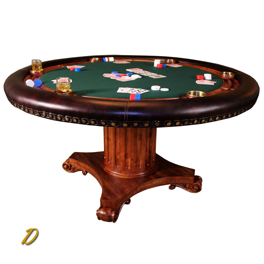 Augustan Coffee Table: Augustus Elite Poker Table