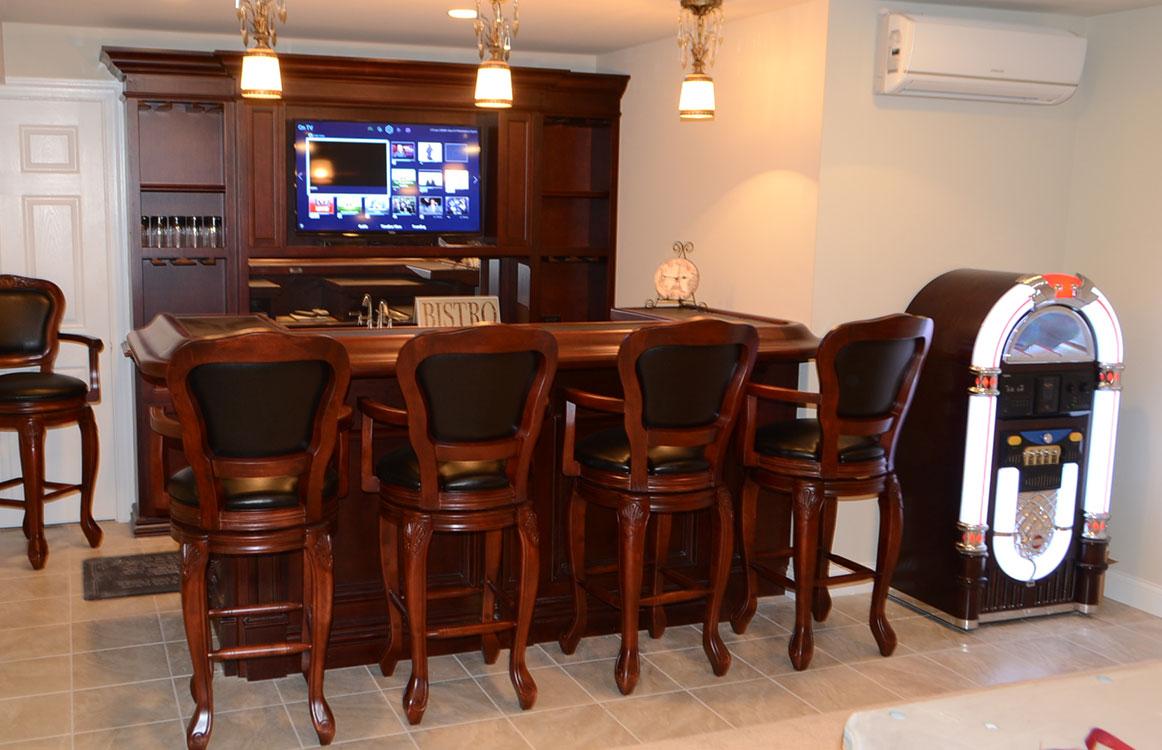 Pool Table room bar stools