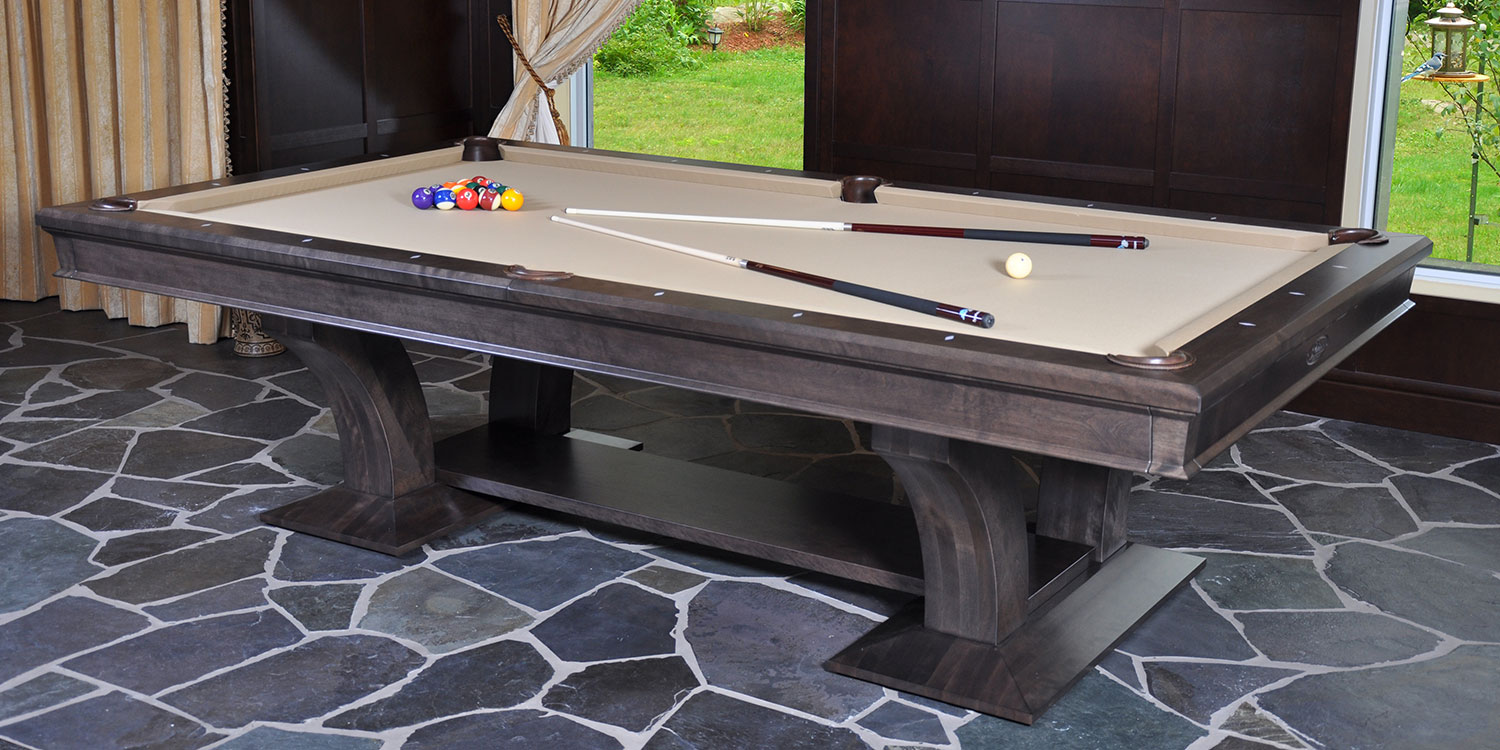 Metro Treviso Custom Pool Table