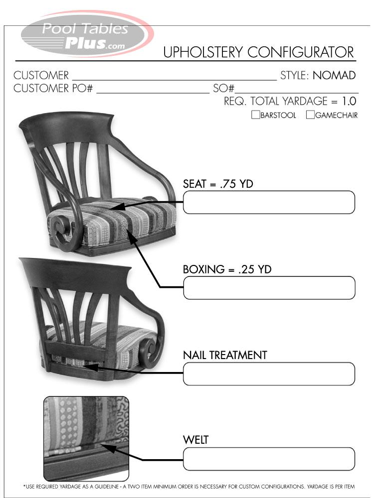 Nomad Flexback Barstool By Mikhail Darafeev