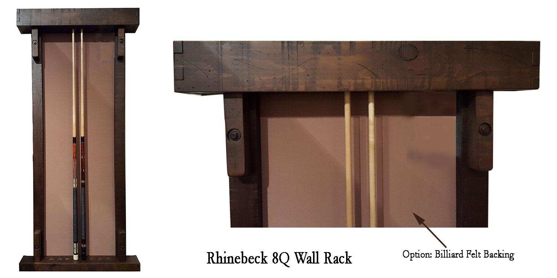 Rhinebeck 8 Cue Rack