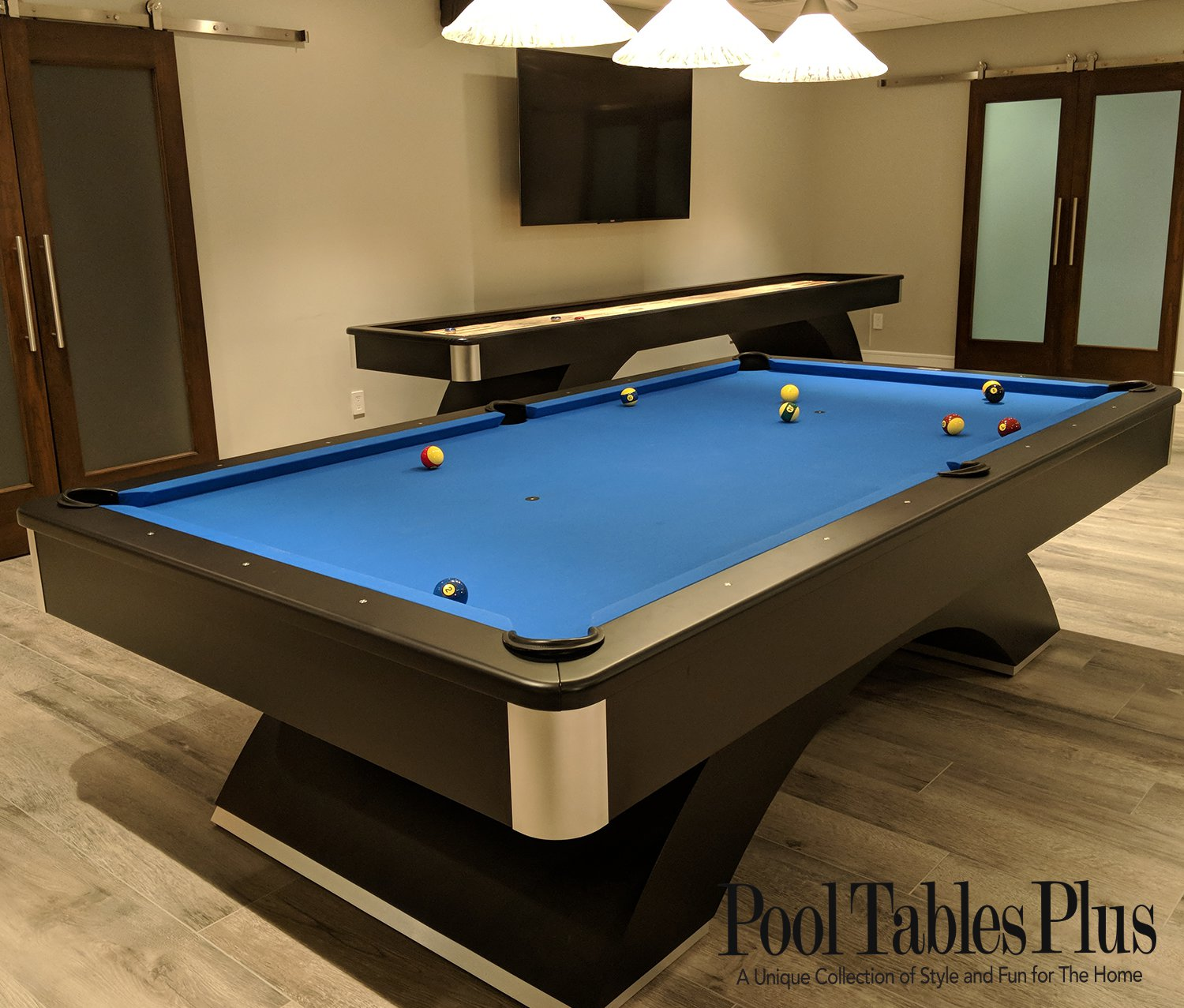 Olhausen Champion Pro III Waterfall Pool Table-Shop Olhausen Pool Tables