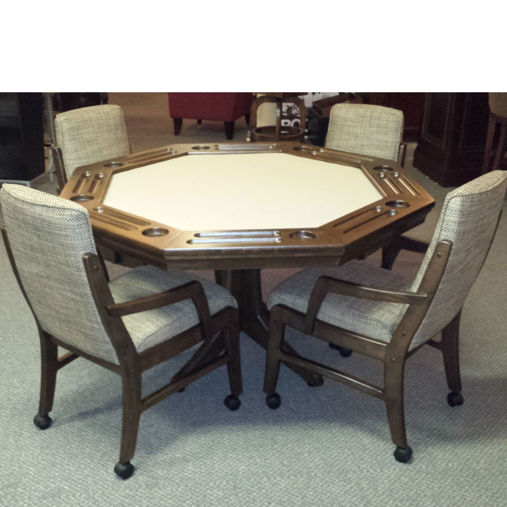 Players Poker Table & 4 Chairs