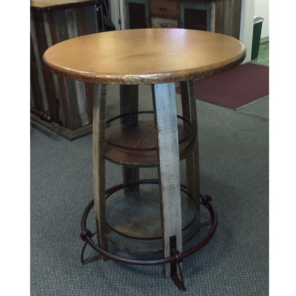 Copper top bistro table watchthetrailerfo