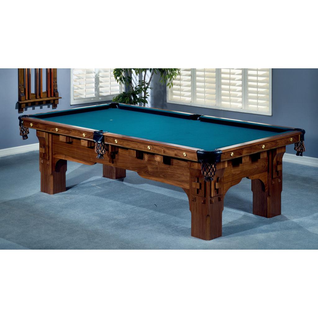 Saint Bernard Mission Pool Table - Brunswick mission pool table
