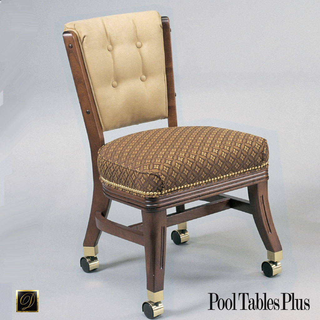 Wheeled Dining Chairs: 960 Armless Club Chair With Casters