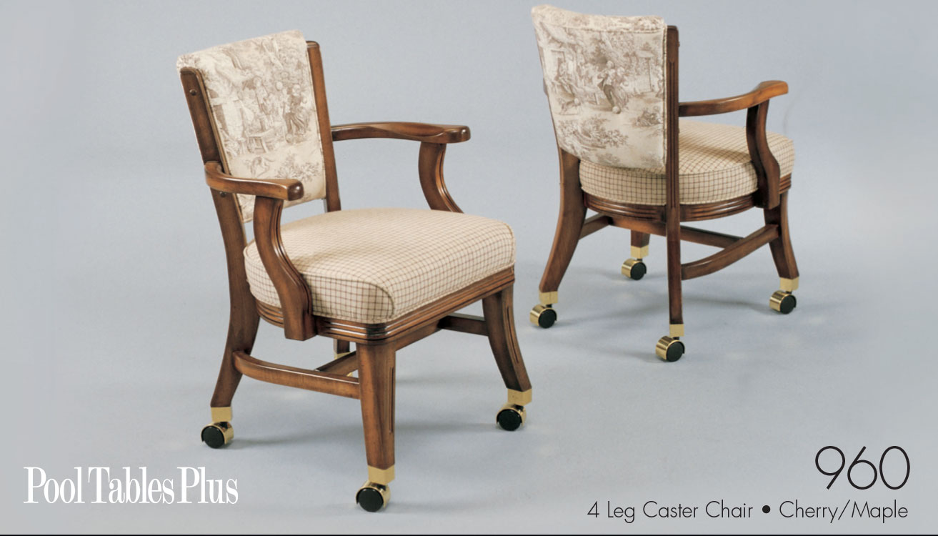 960 Club Chair With Caster By Mikhail Darafeev