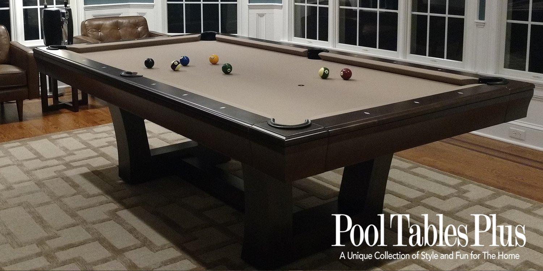 City Lights Custom Pool Table