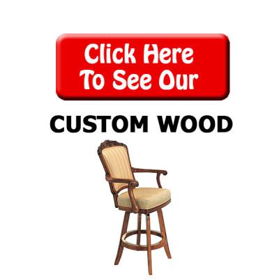Custom Wood Bar Stools