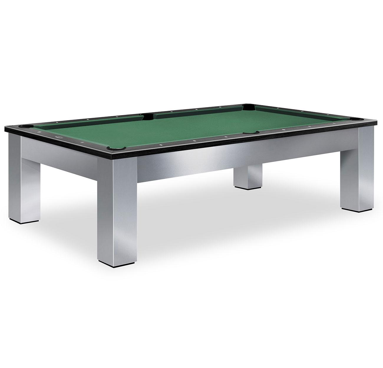 Olhausen Madison Brushed Aluminum Pool TableShop Olhausen Pool Tables - Aluminum pool table