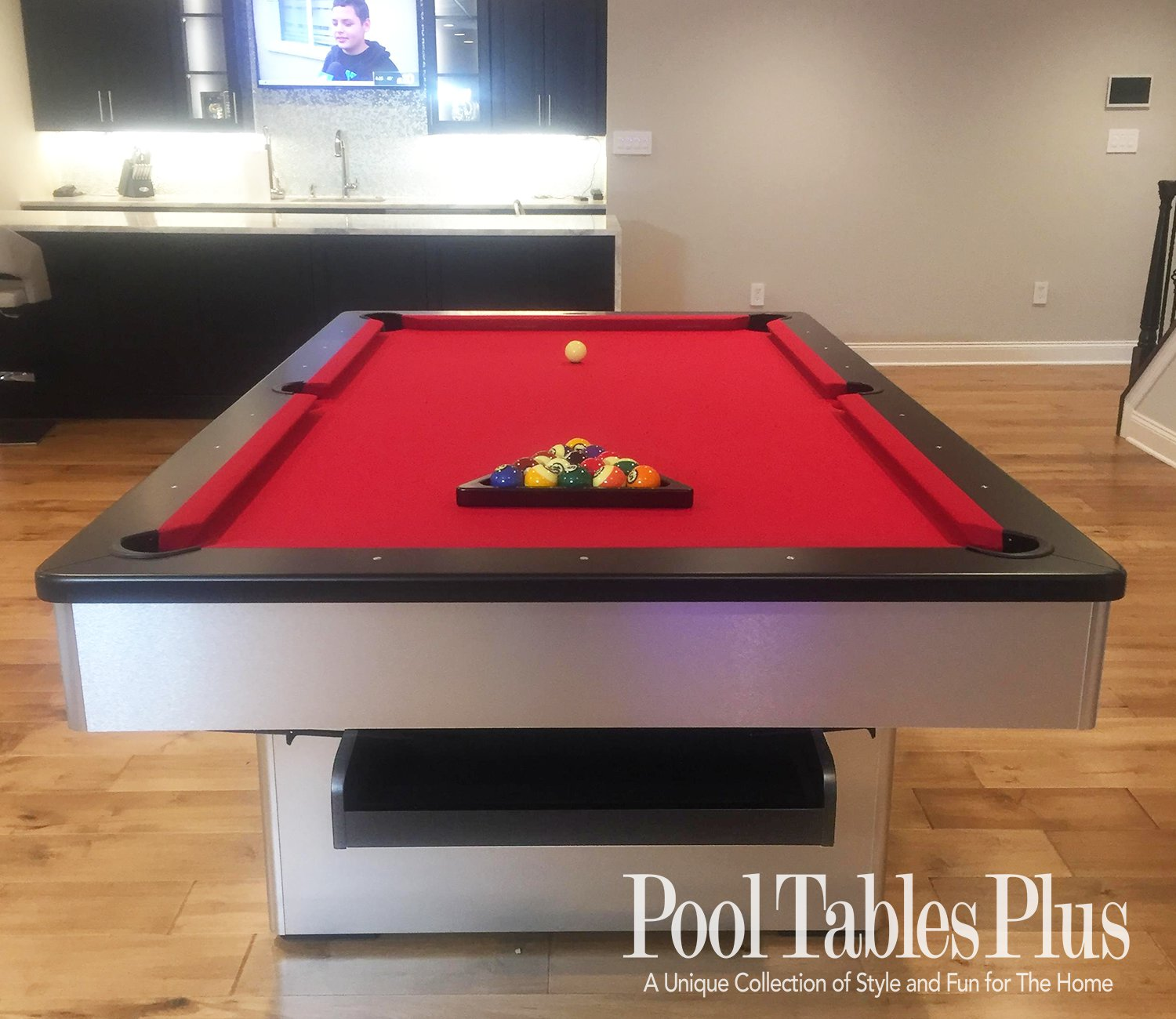 Olhausen Monarch Brushed Aluminum Pool Table Shop Olhausen
