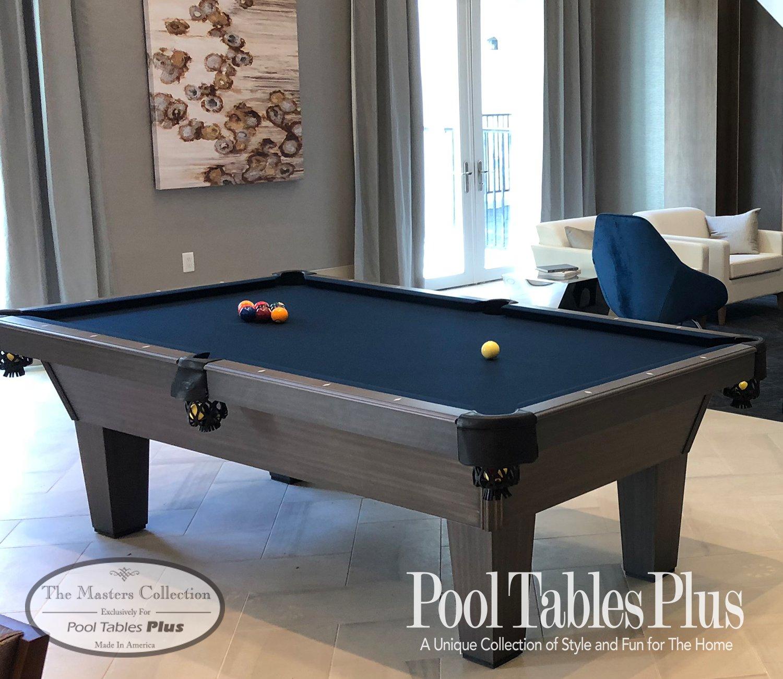 Blue Pool Table #52 - Pool Tables Plus