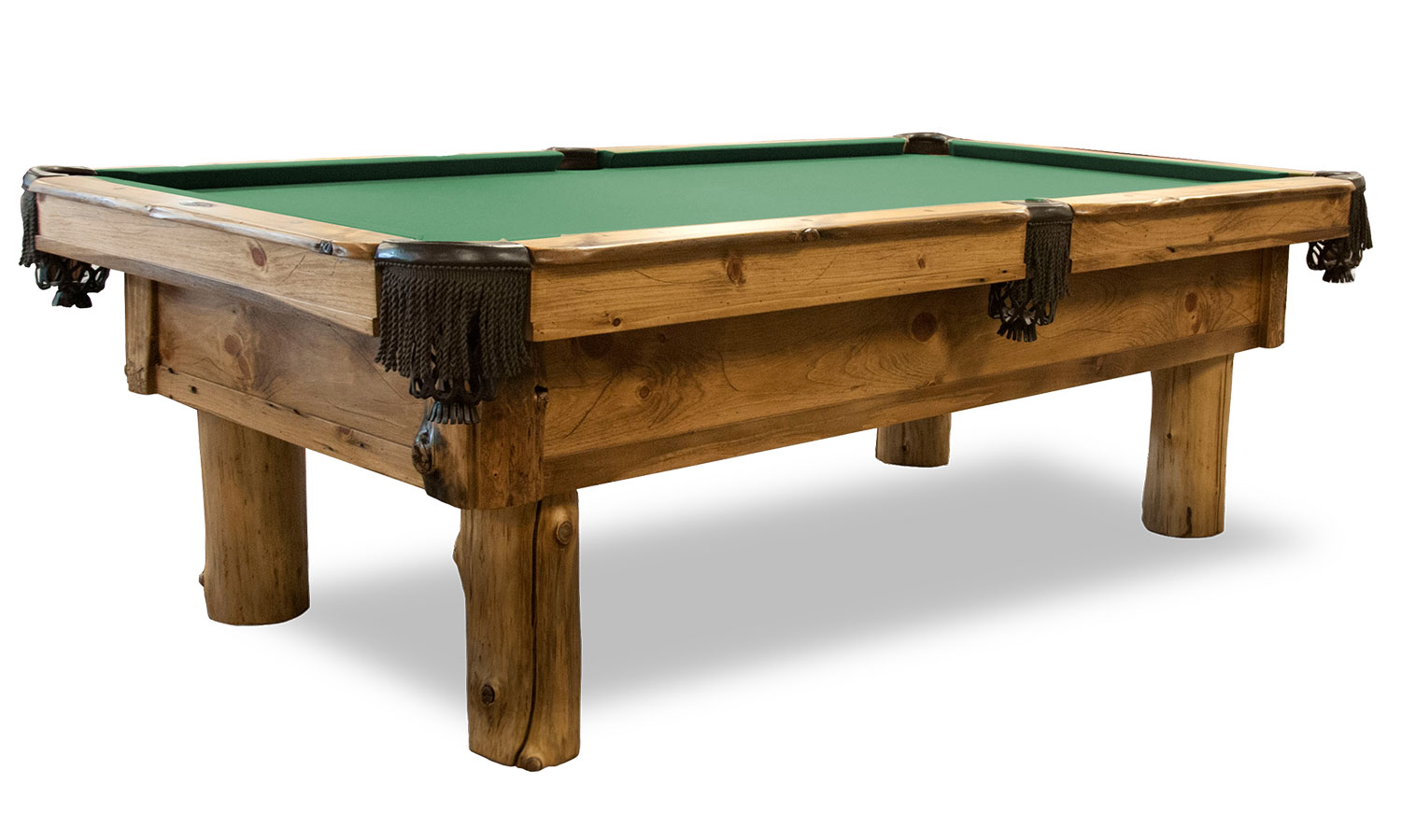 Pine Haven Rustic Pool Table