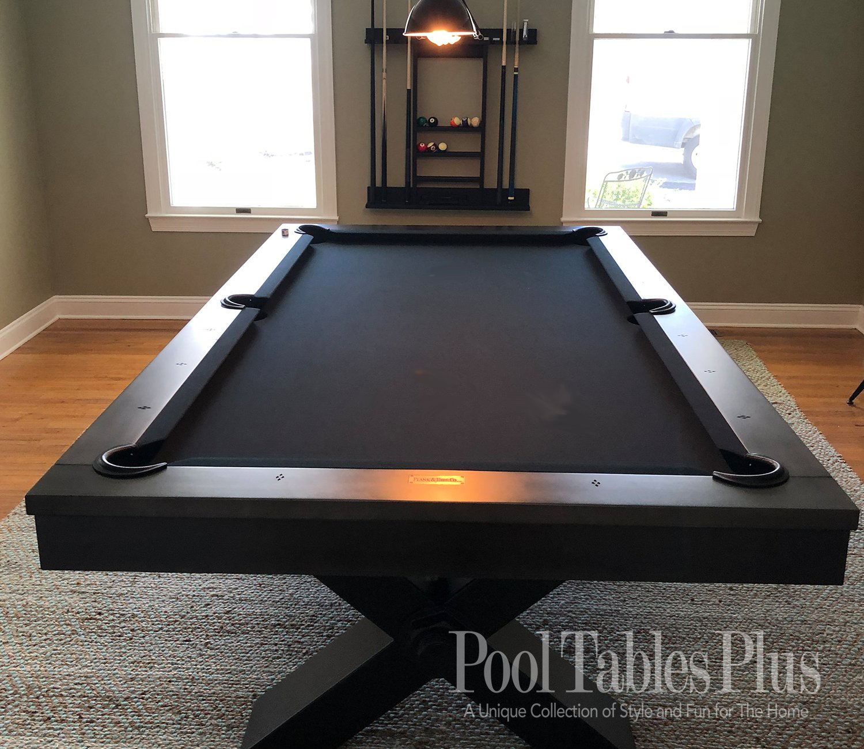 Plank Hide Vox Pool Table - Industrial style pool table