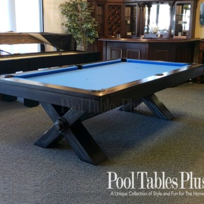Reclaimed Wood Iron - Industrial style pool table