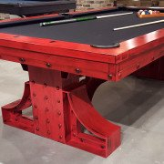 Beautiful Handcrafted Pool Table