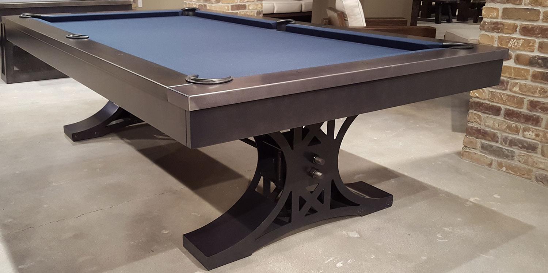 Beautiful Axel Industrial Pool Table