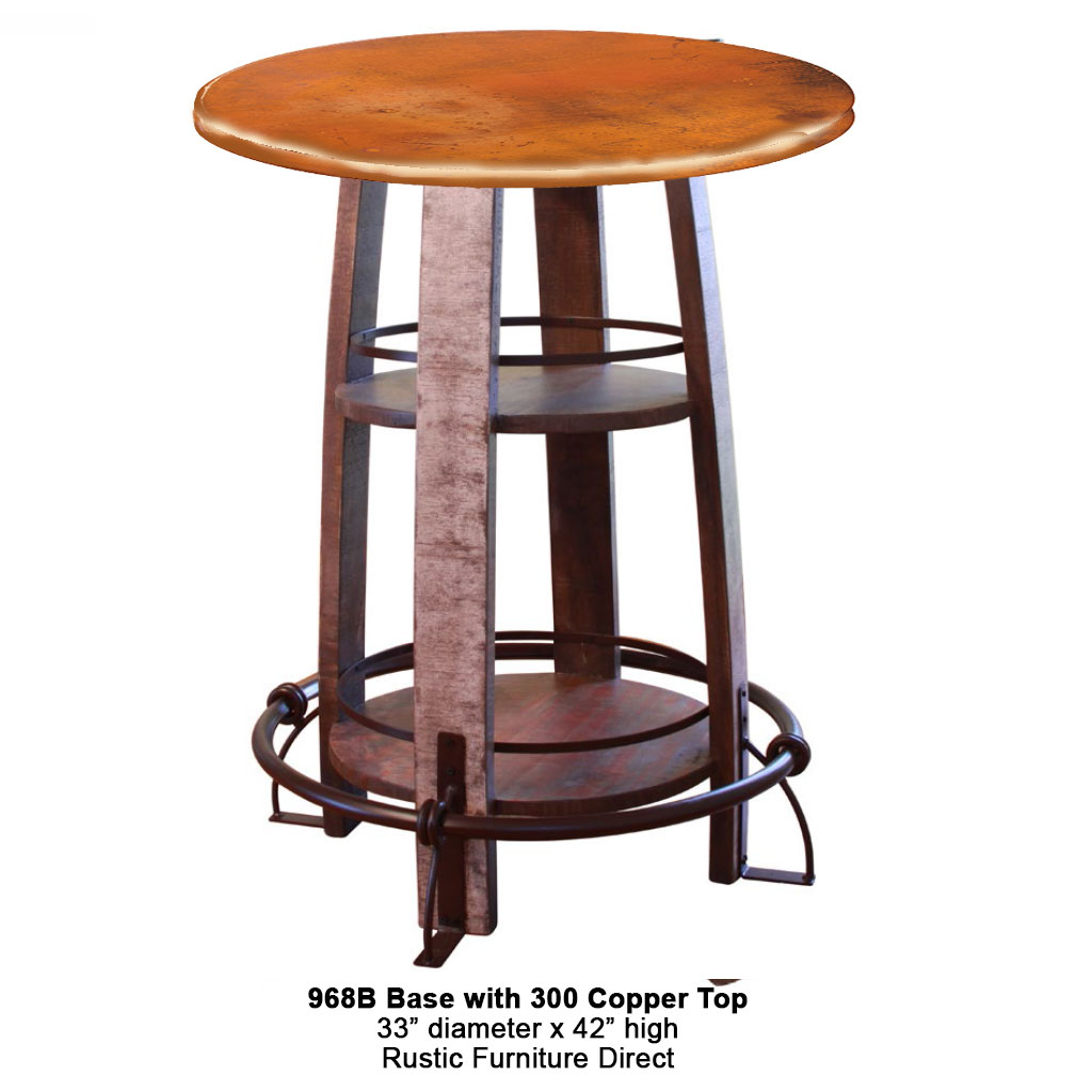 968 pub table with copper top watchthetrailerfo