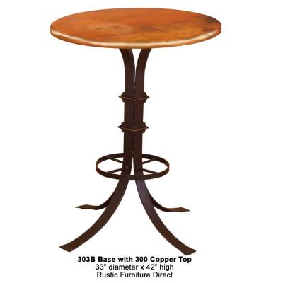 Bon 302B Iron Pub Table