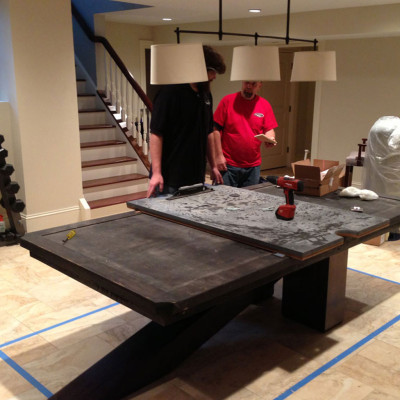 ReLevel Pool Table - How to level a pool table