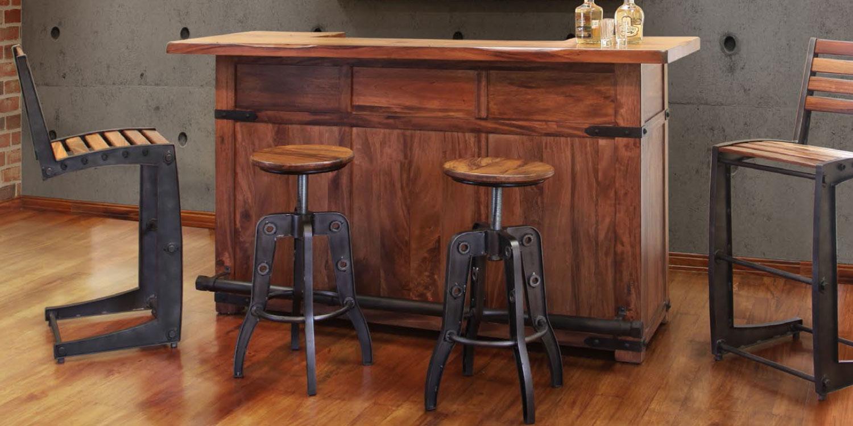 Exotic Hardwood Bar