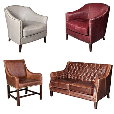 Leather Chairs & Recliners