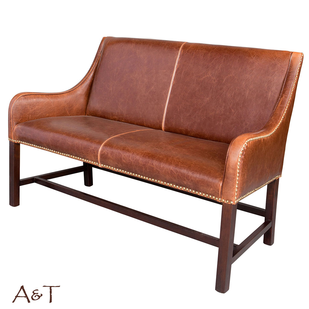 Manchester Settee in Antique Saddle Leather : manchester744as3 1 from www.pooltablesplus.com size 1024 x 1024 jpeg 127kB