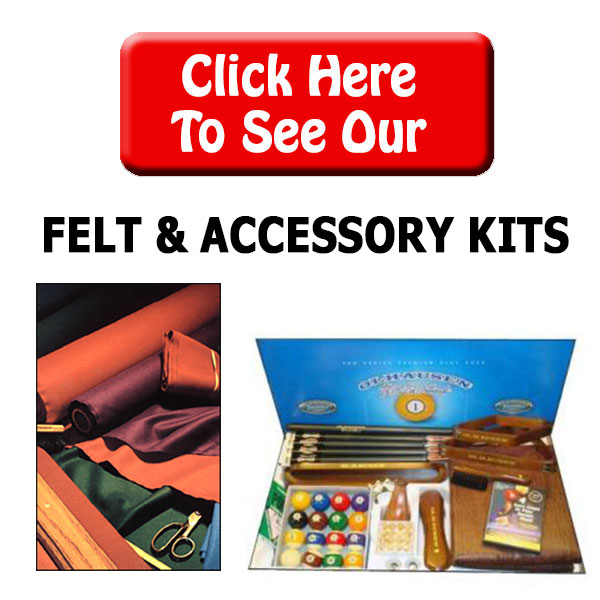Billiard Felt & Play Kits