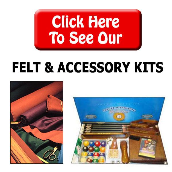 Billiard Felt & Play Kits