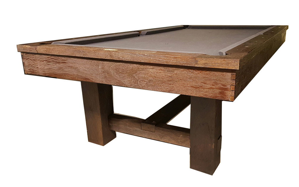 8′ Pottery Barn Style Pool Table