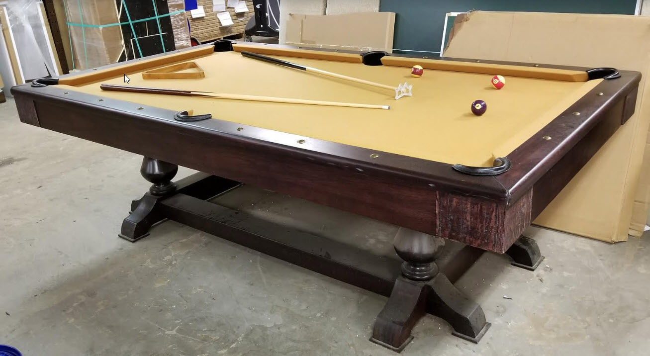 8′ Restoration Pool Table
