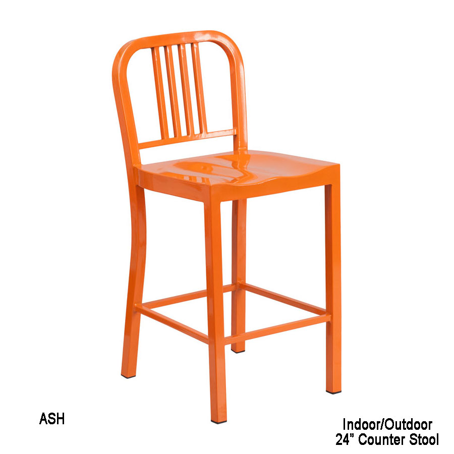 Industrial Kitchen Counter Stool 9 colors : 24 orange metal counter height stool ch 31200 24 or gg 33 from www.pooltablesplus.com size 900 x 900 jpeg 67kB