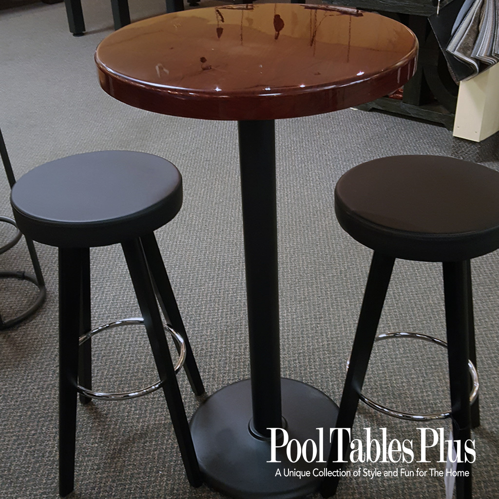 Pub Table With Hi Gloss Finish