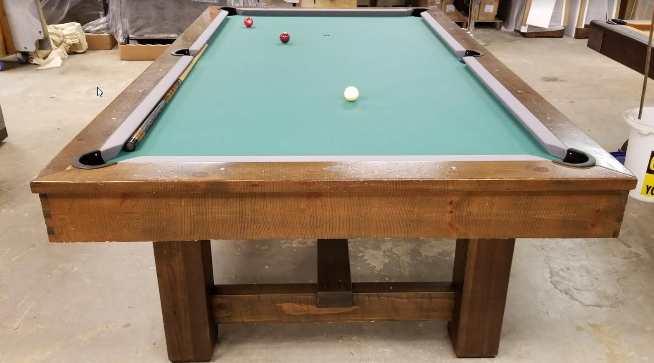 PreOwned Pool Tables Game Room Furniture - Olhausen breckenridge pool table
