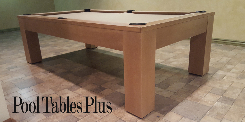 White Oak Madison Pool Table - Olhausen madison pool table
