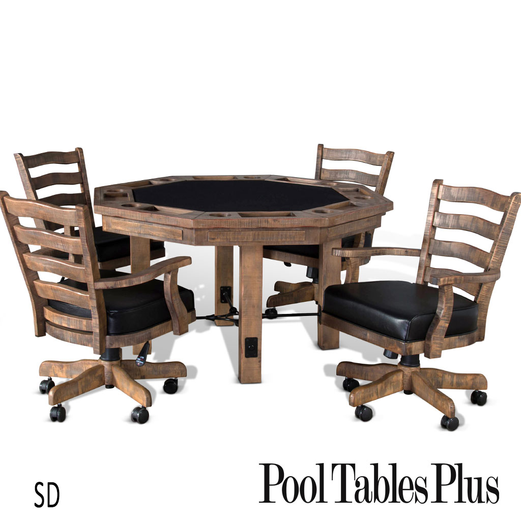 Pueblo Poker And Dining Table