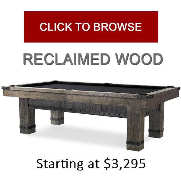 Reclaimed Wood & Iron