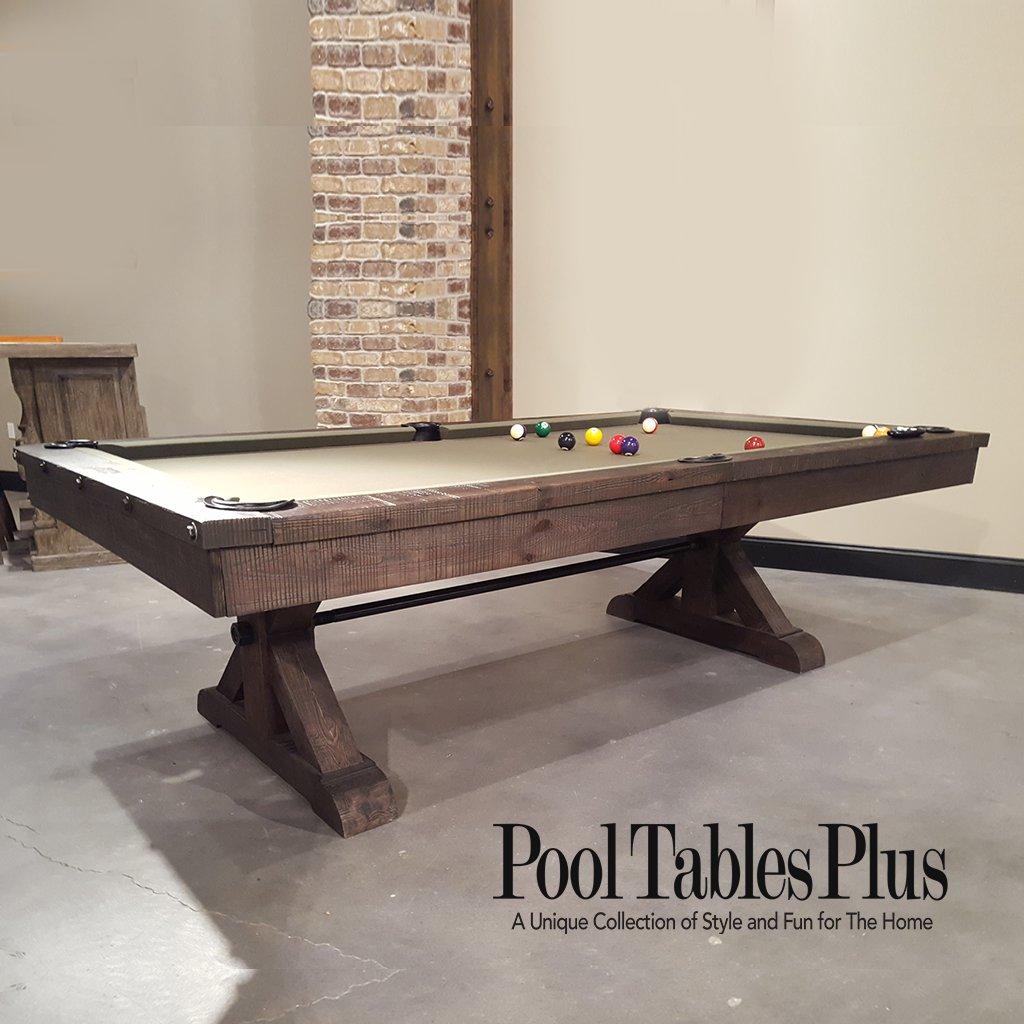 Otis 8 39 pool table by plank hide for 10 in 1 pool table