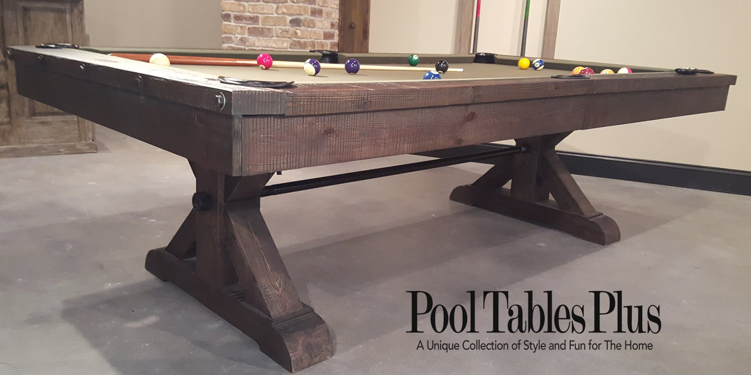 Otis 8 39 pool table by plank hide for 10 pool table