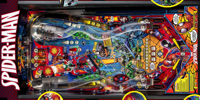 Spiderman Pinball Full Size