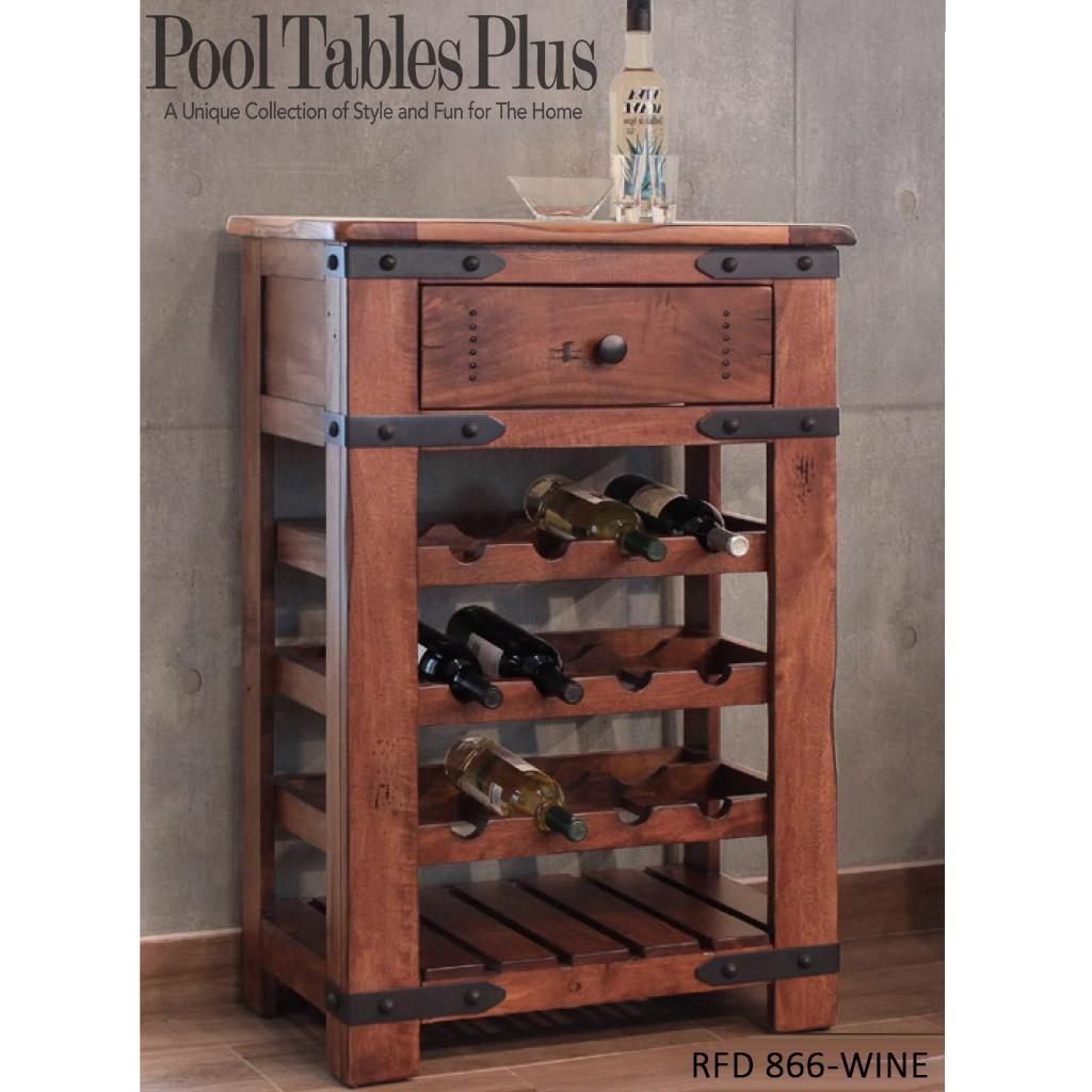 Exotic Wood Wine Rack