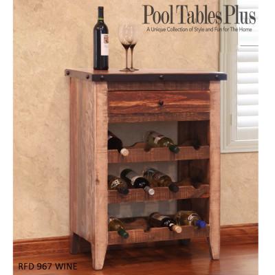 Multi Colored Wine Cabinet