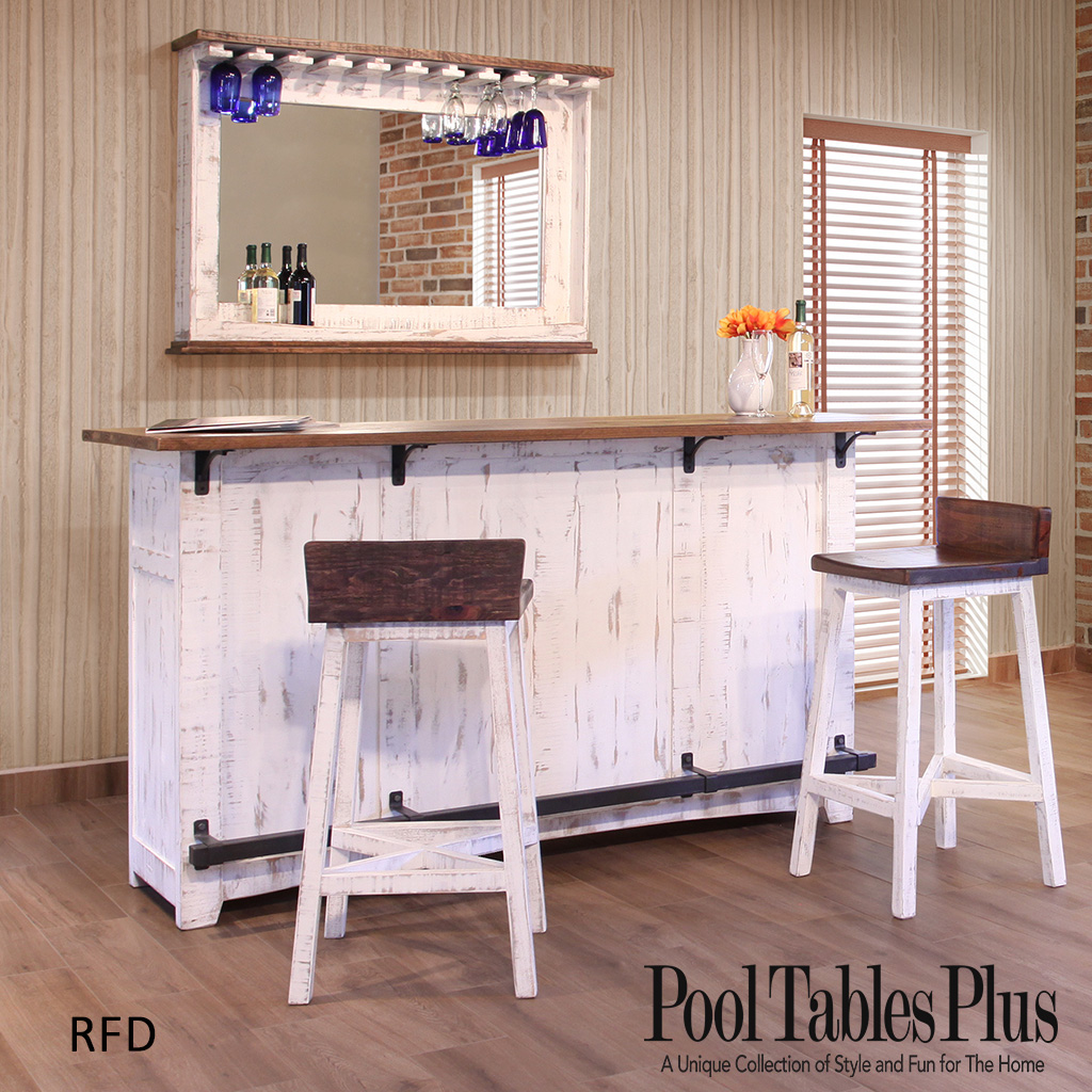 Pueblo White Home Bar