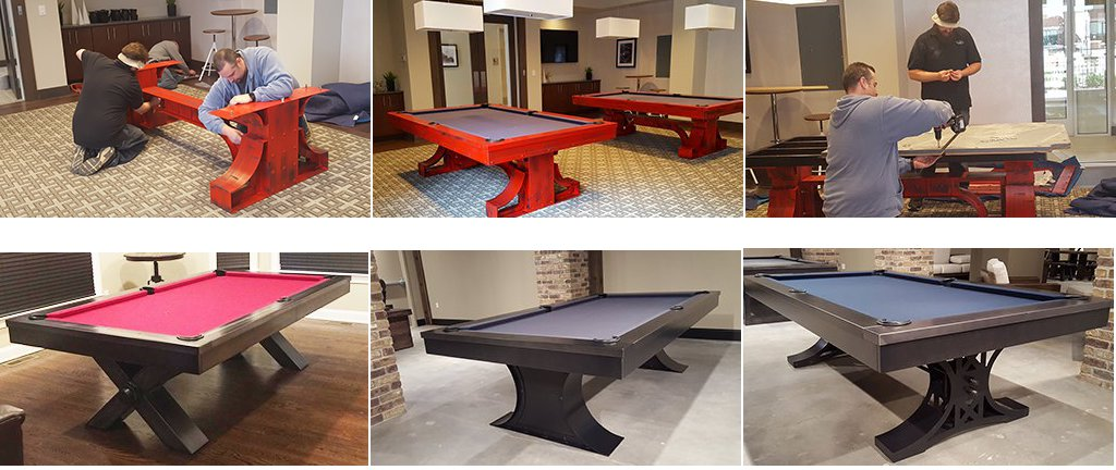 Other Games Played On A Pool Table - How to move a pool table without taking it apart