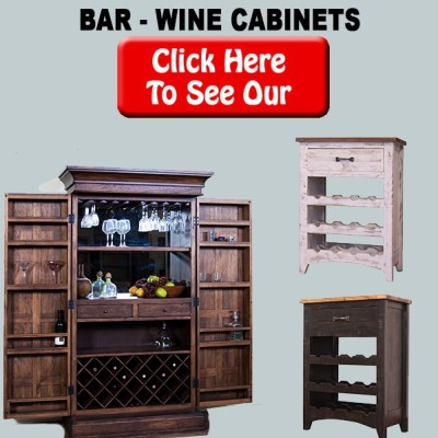 Liquor and Wine Cabinets