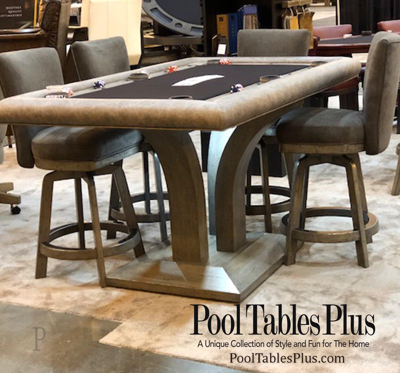 Treviso Rectangular Poker Dining Table