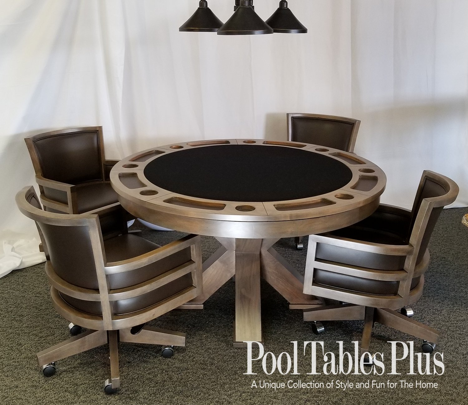 Picture of: Duke Poker Dining Table