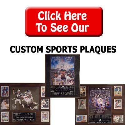 Custom Sports Plaques