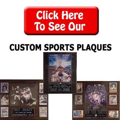 Custom Sports Plaques